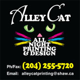 Alley Cat Printers Logo