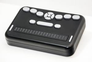 Photo of the refreshable Braille Orbit.