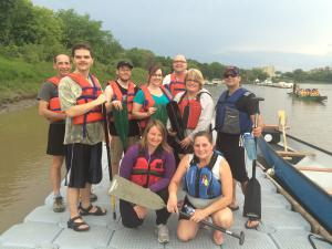 "Photo of VIRN""s paddlers on the dock after a great time on the water."