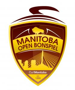 Graphic of Manitoba Open Bonspiel Logo